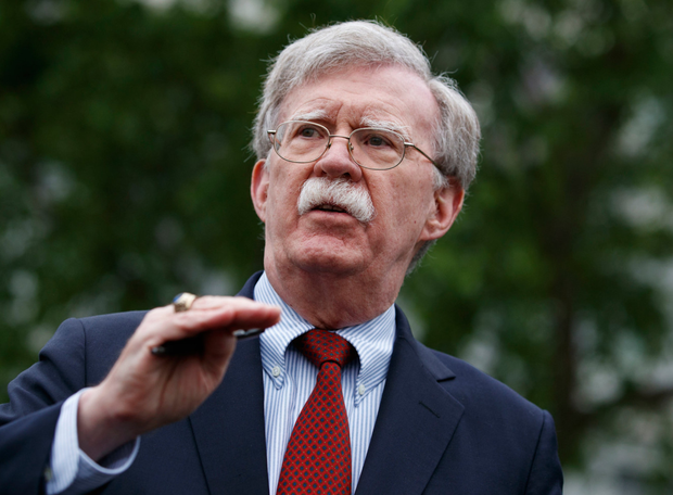 US National Security Adviser John Bolton told of moves. Photo: AP