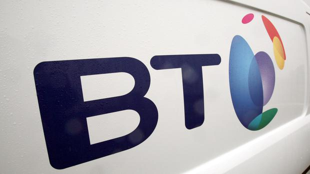 BT has posted a drop in annual earnings and warned that sales and profits are set to fall over the year ahead amid a 'very challenging and competitive UK market' (Paul Faith/PA)