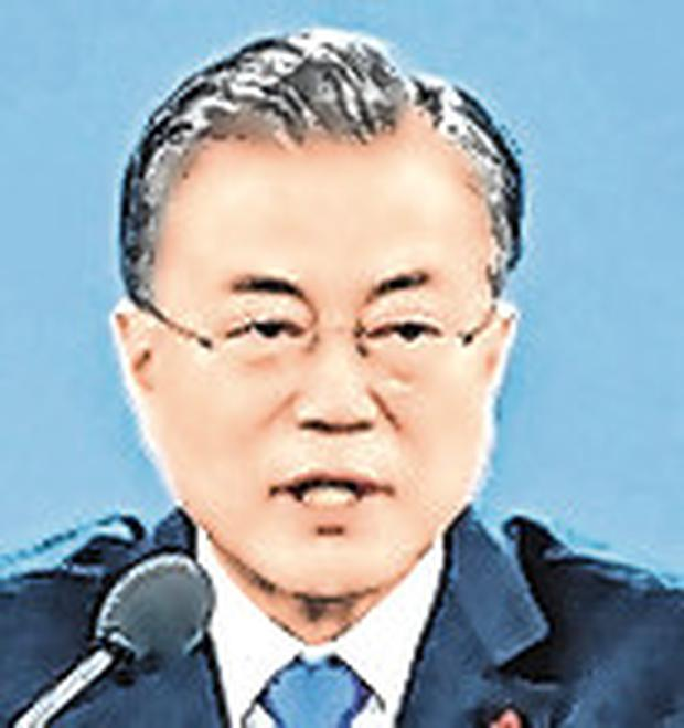Food aid approval: South Korea President Moon Jae-in