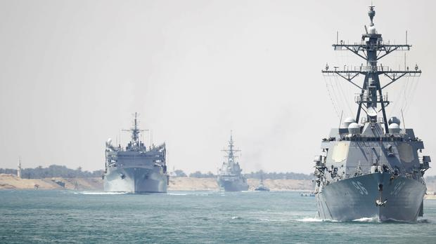 The Abraham Lincoln Carrier Strike Group (Mass Communication Special/AP)