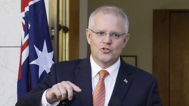 Scott Morrison remains Australia's PM after his coalition won the country's general election (Rod McGuirk/AP)