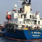 Damage to oil tankers has been blamed on Iran (United Arab Emirates National Media Council/AP)