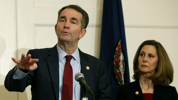 Virginia governor Ralph Northam refused to resign following the scandal (AP Photo/Steve Helber, File)