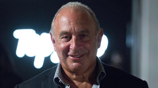 Sir Philip Green previously made a personal payment into the BHS pension fund (PA)
