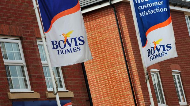 Bovis Homes confirmed it is no longer in discussions to acquire rival Galliford Try's housing business (PA)