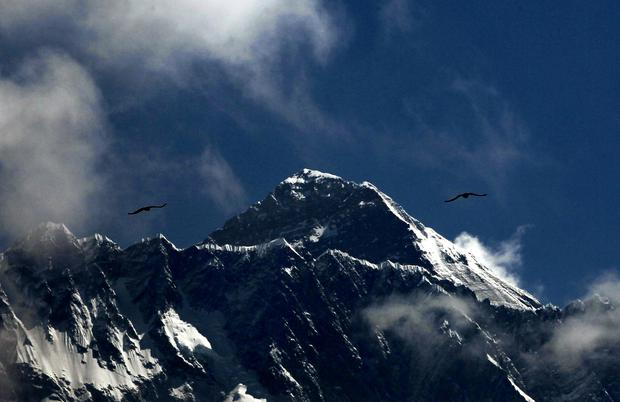Christopher John Kulish (61) a lawyer, did not show any distress when reaching the peak of the world's highest mountain yesterday but died after descending. Photo: AP/PA Images