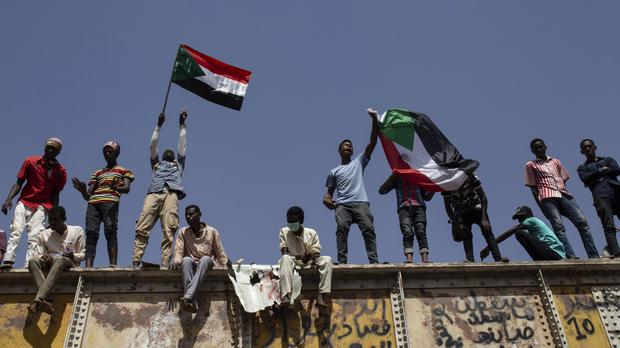 Protesters in Khartoum (AP Photos/Salih Basheer, File)