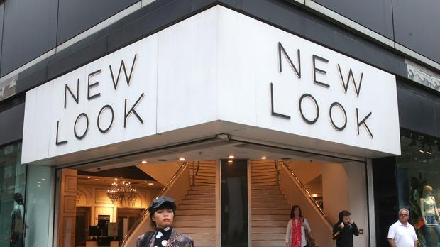 A branch of New Look on Oxford Street, central London. (Yui Mok/PA)