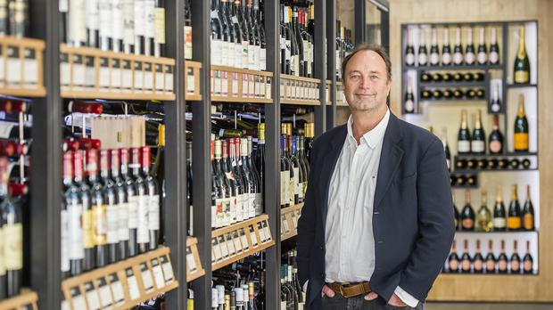 Undated handout file photo issued by Majestic Wine of their Chief Executive Rowan Gormley, ahead of Majestic Wine's full-year results announcement for 2018-19. (Guy Bell/Majestic Wine)
