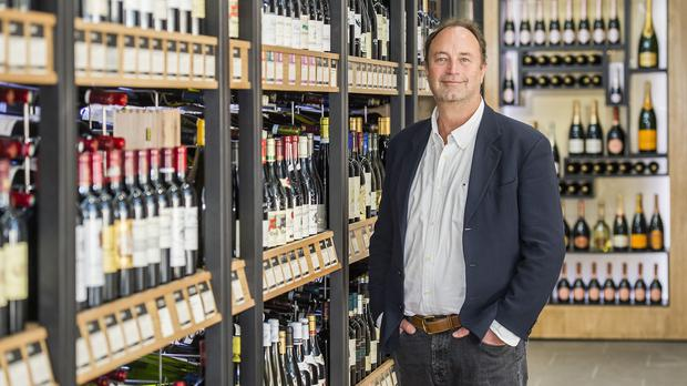 Majestic Wine chief executive Rowan Gormley