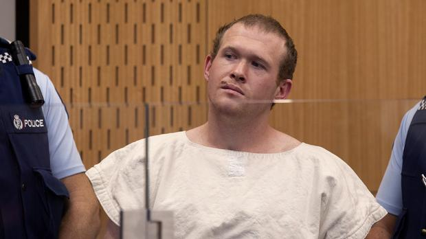 Brenton Tarrant, the man charged in the Christchurch mosque shootings (Mark Mitchell/AP)