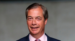 Nigel Farage: His Brexit Party leads polls ahead of the Liberal Democrats. Photo: PA