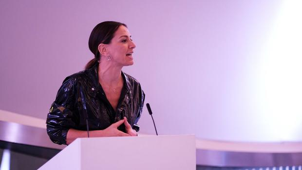 Yana Peel has quit as the chief executive of the Serpentine Galleries (Yana Peel/PA)