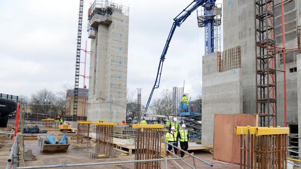 Housebuilder Berkeley saw pre-tax profits sink by 20.7% in the year to April 2019 (Mark Large/Daily Mail/PA)