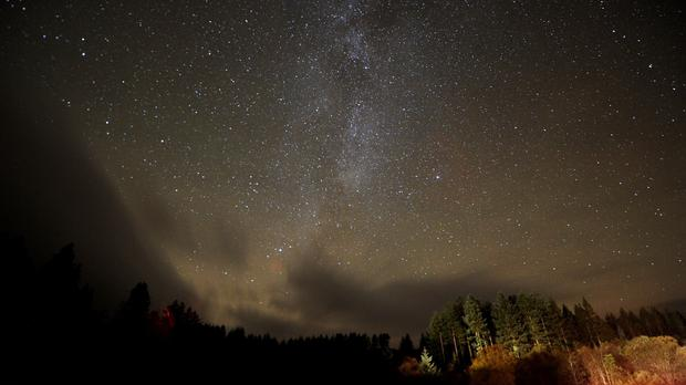 Stars in the Milky Way pictured in clear skies (Owen Humphreys/PA)