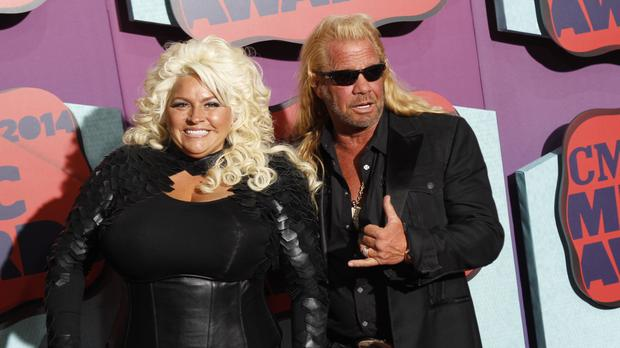 Duane 'Dog' Chapman and his wife Beth (Invision/AP)