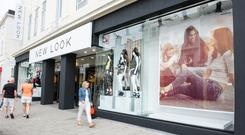 The retailer said core like-for-like sales fell 1.6pc in an improved performance on the 11.6pc tumble seen the previous year