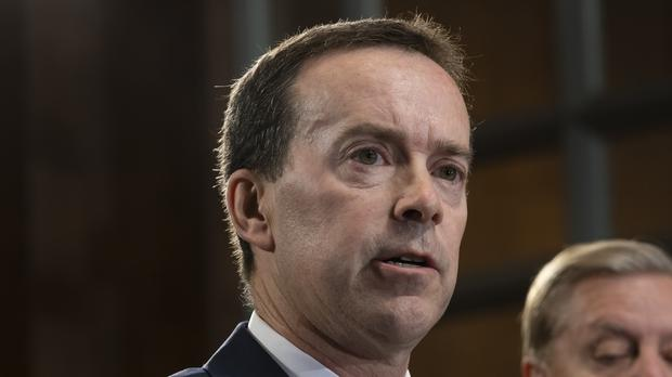 US Customs and Border Protection Commissioner John Sanders has said he will resign on July 5 (J Scott Applewhite/AP)