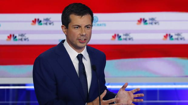 Democratic presidential candidate South Bend Mayor Pete Buttigieg (Wilfredo Lee/AP)