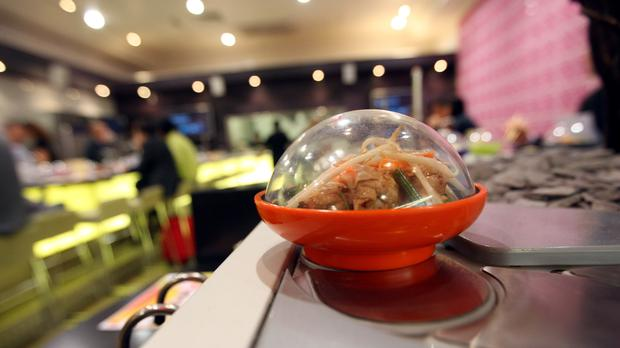 Yo! Sushi has announced a major US merger which will see it become the leading sushi company outside of Japan (PA)
