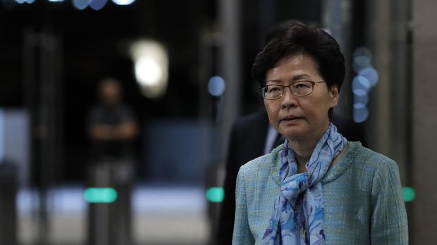 Hong Kong chief executive Carrie Lam had invited student leaders for talks (Vincent Yu/AP)