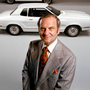 Plain speaker: Lee Iacocca with Ford Mustangs