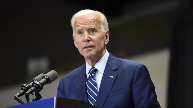 Democratic presidential candidate and former US vice president Joe Biden (AP Photo/Meg Kinnard)