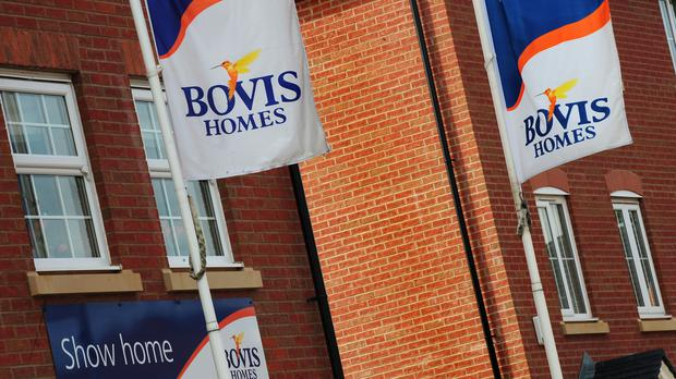 Bovis Homes reported rising sales and prices (Rui Vieira/PA)