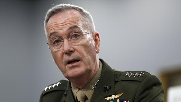 US Joint Chiefs of Staff chairman General Joseph Dunford (Jacquelyn Martin/AP)