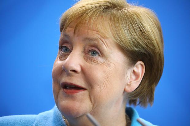 Health concerns: Angela Merkel has suffered three bouts of shaking. Photo: Reuters