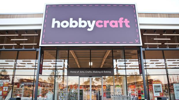 Undated handout photo of a Hobbycraft store. The arts and crafts retailer has reported higher sales in the year to February 2019 (PA)