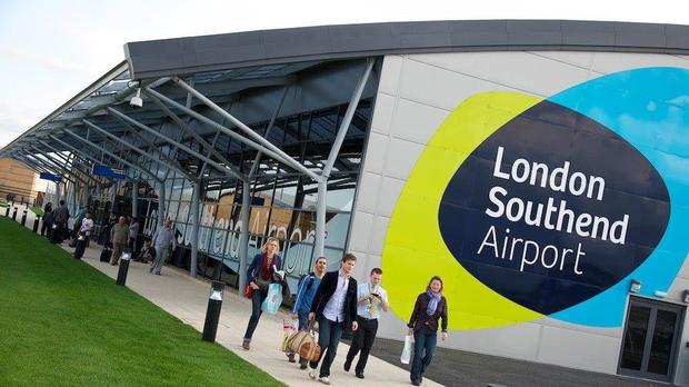 Southend Airport has seen a boost in passenger numbers since Ryanair launched operations there. (Stobart / PA)