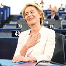 Spoke with passion: Ursula von der Leyen 'delivered the speech of her life'. Photo: Reuters