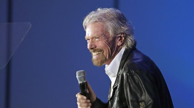 Sir Richard Branson celebrated his 69th birthday (John Raoux/AP)