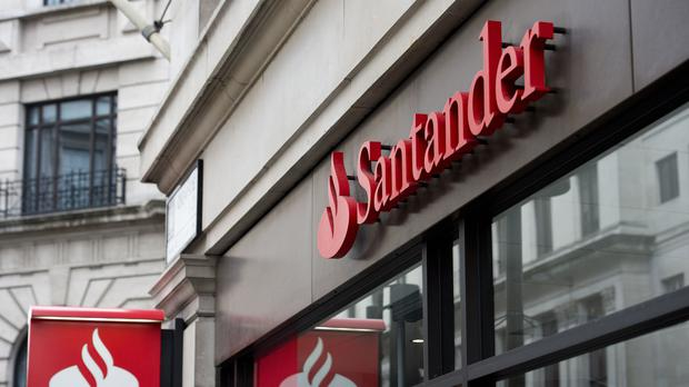 Santander has already revealed a hit from the intense competition in the market (Laura Lean/PA)