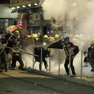 Protesters clash with police in Hong Kong (Vincent Yu/AP)