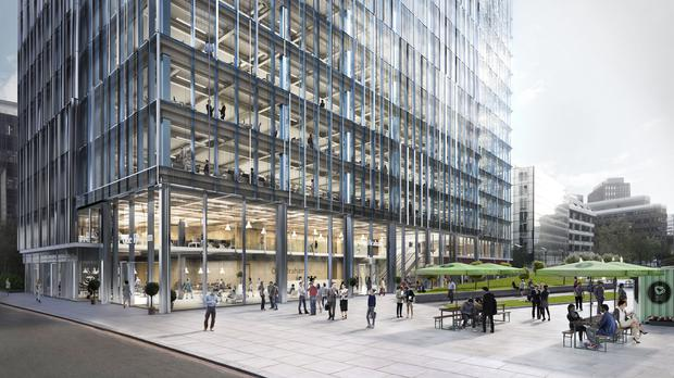 BT has confirmed plans to move into the One Braham building in Aldgate by the end of 2021 (Aldgate Development/BT/PA)