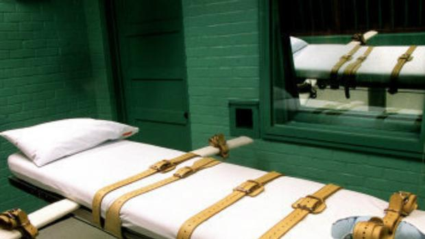 The death chamber at the Walls in Huntsville, Texas (Chuck Berman/TNS via ZUMA Wire/PA)