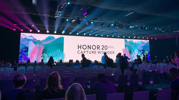 Honor 20 launch (Martyn Landi/PA)