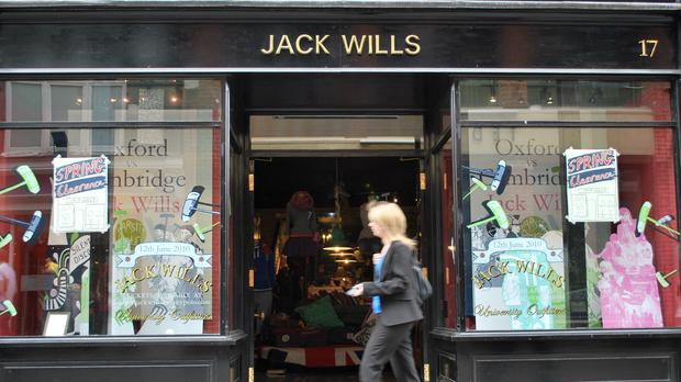 The fate of Jack Wills is expected to be decided on Monday (PA)