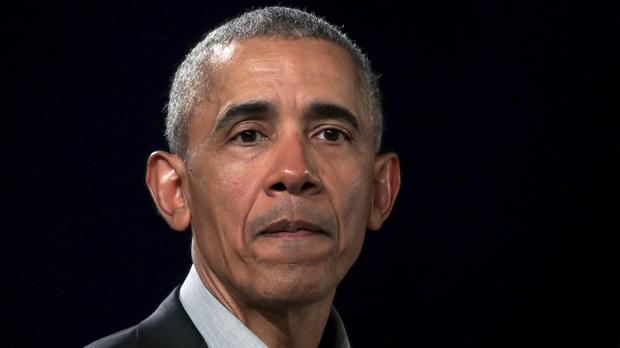 Former president Barack Obama released a statement following two mass shootings in the US Photo: Michael Sohn