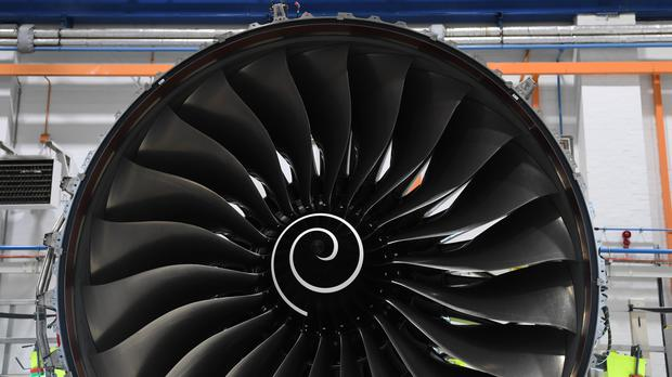 Rolls-Royce has reported narrowed half-year losses, but revealed ongoing woes with its Trent 1000 turbine issues (Paul Ellis/PA)
