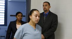 Cyntoia Brown is being released from prison (Lacy Atkins/The Tennessean via AP, Pool, File)