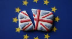 Britain has loosened the Brexit boulder but we are directly in its path. Stock photo: Yui Mok/PA
