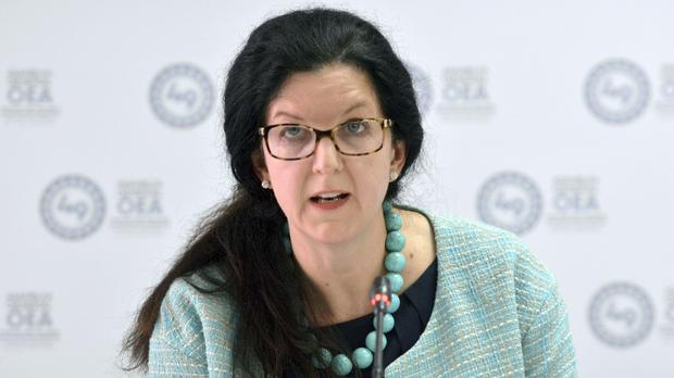 Kimberly Breier, Assistant Secretary of State for Western Hemisphere Affairs, has resigned as the Trump administration's top diplomat for Latin America (Luis Benavides/AP)