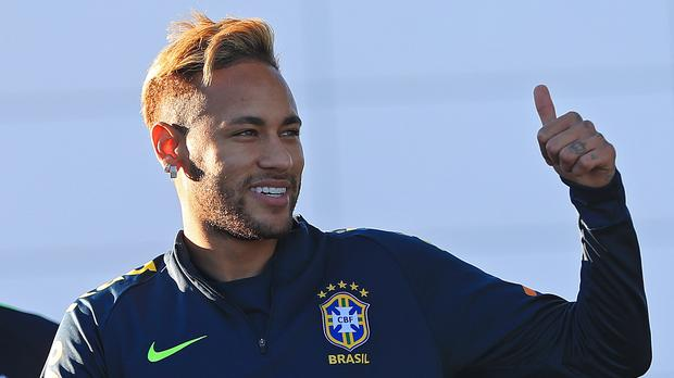 The rape case against Brazilian footballer Neymar has been closed (Simon Cooper/PA)