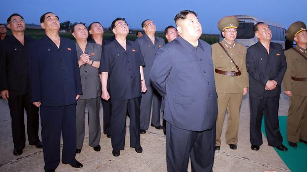 Kim supervised new weapons test