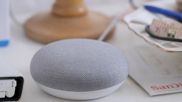 Smart speakers such as the Google Home are owned by one in five UK households (Federica De Caria/PA)