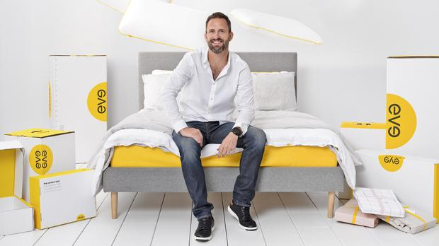 Eve Sleep chief executive James Sturrock. The company is in early stage merger talks with rival Simba (Eve Sleep/PA)
