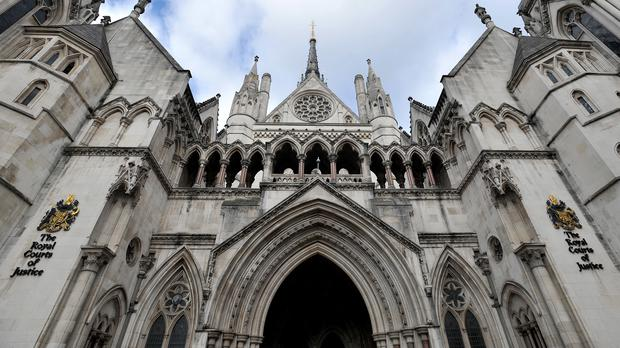 The Royal Courts of Justice in central London (PA)